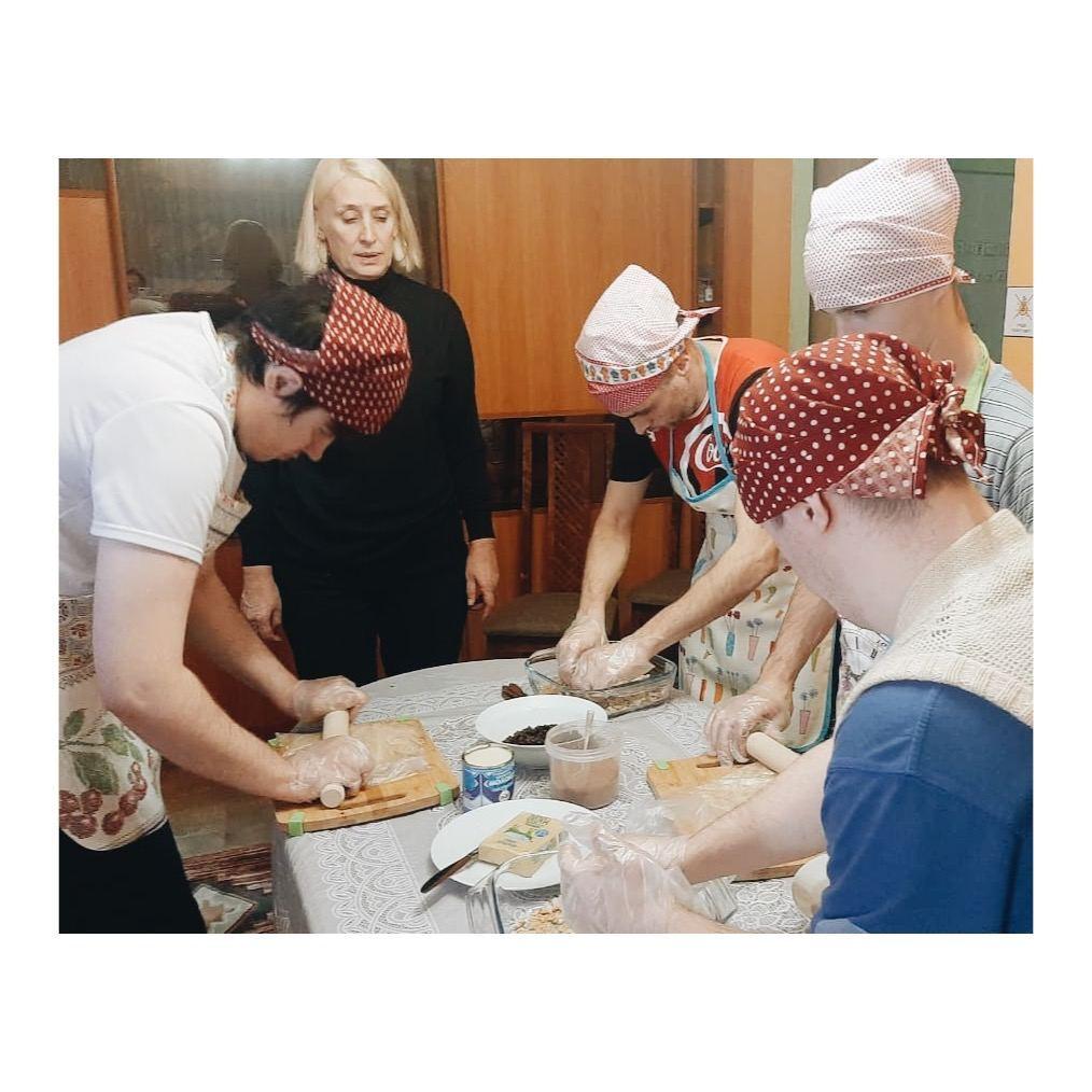 Мастер-класс по приготовлению «шоколадной колбасы»