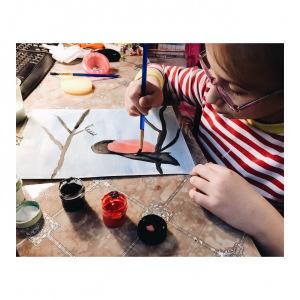Мастер-класс по рисованию от Разуменского дома детства