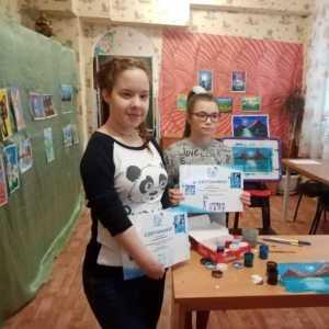 Выставка рисунков воспитанников Разуменского дома детства